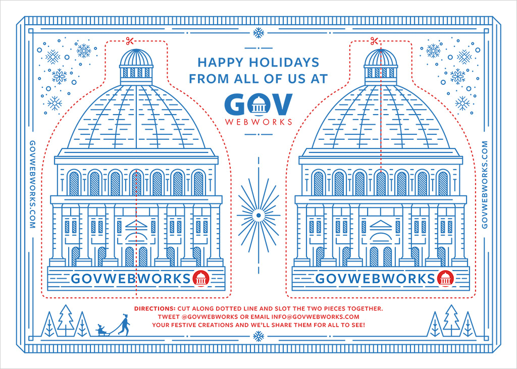 Happy Holidays from all of us at GovWebworks