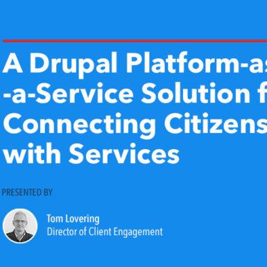 A Drupal Platform-as-a-Service Solution