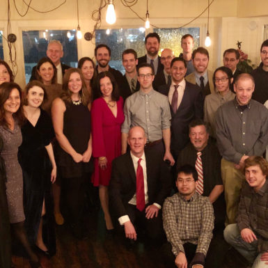 The GovWebworks team at their 2018 Holiday Party