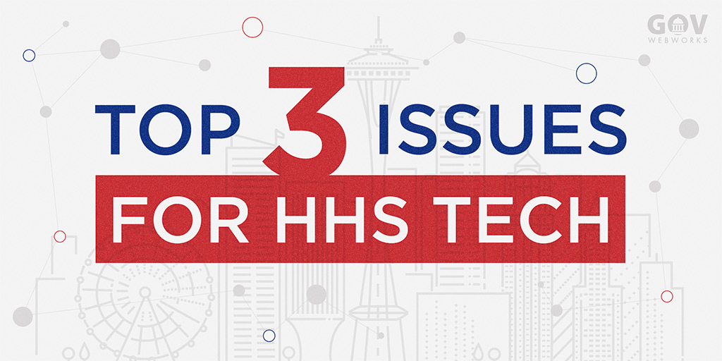 Top 3 Issues for HHS Tech