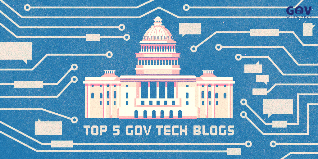 Illustration to support Top 5 Gov Tech Blogs