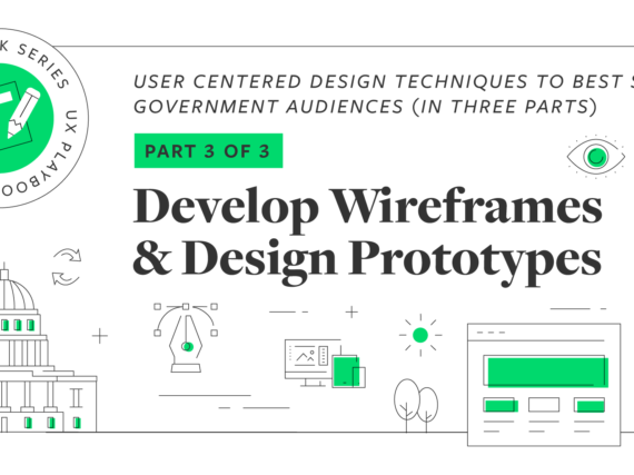 UX Playbook Part 3 of 3: Develop Wireframes and Design Prototypes