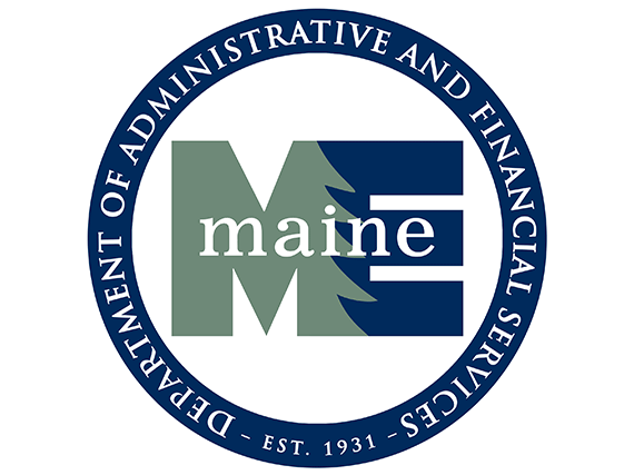 Maine Department of Administrative and Financial Services Logo