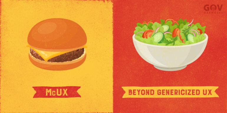 McUX vs Beyond Genericized UX
