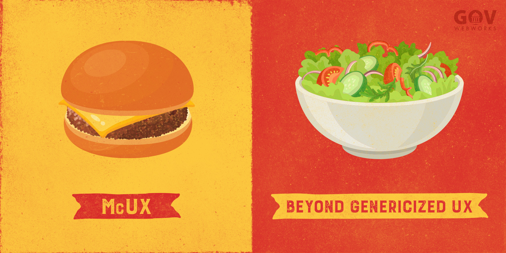 McUX vs Beyond Genericized UX