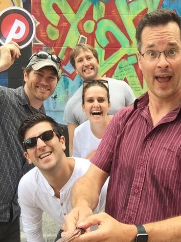 GovWebworks team members having fun!