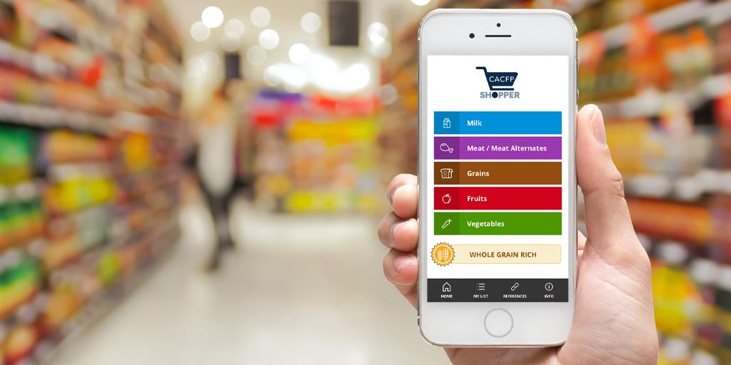 CACFP Shopper App