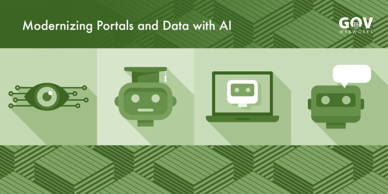 Modernizing Portals and Data with AI