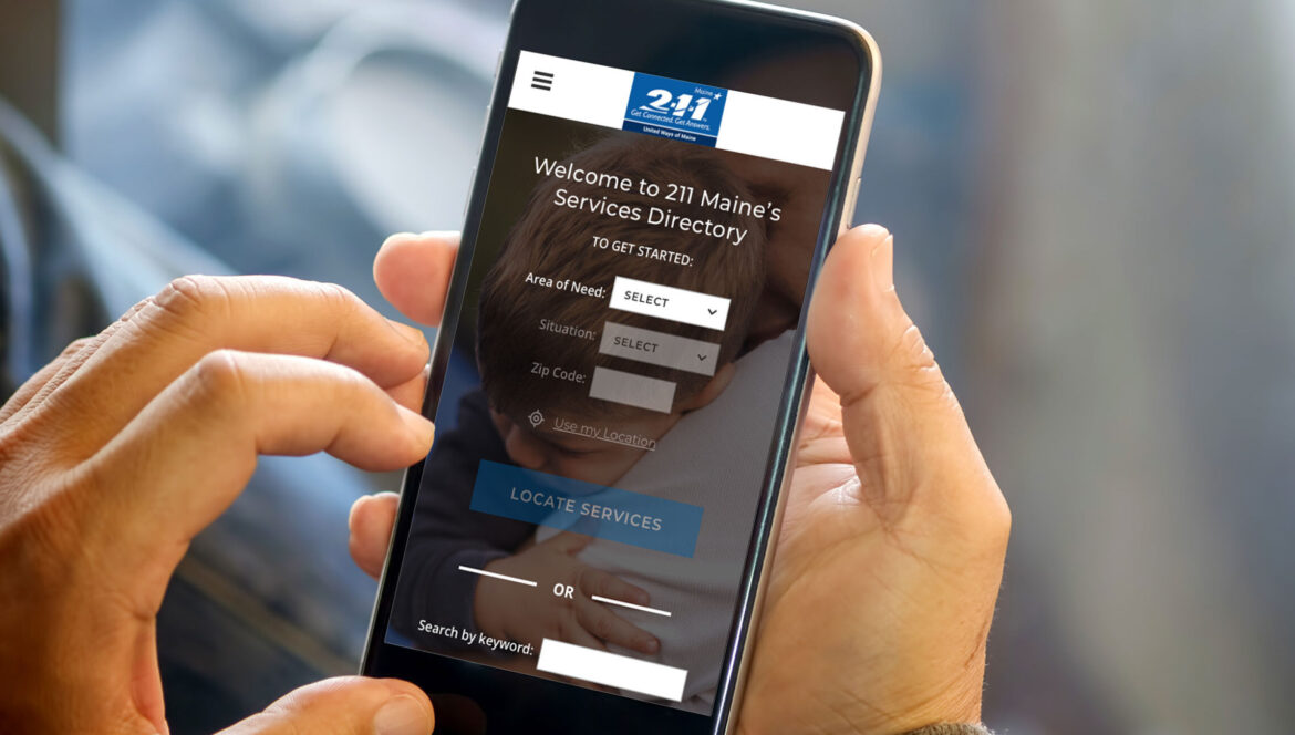 211 Maine Mobile Application