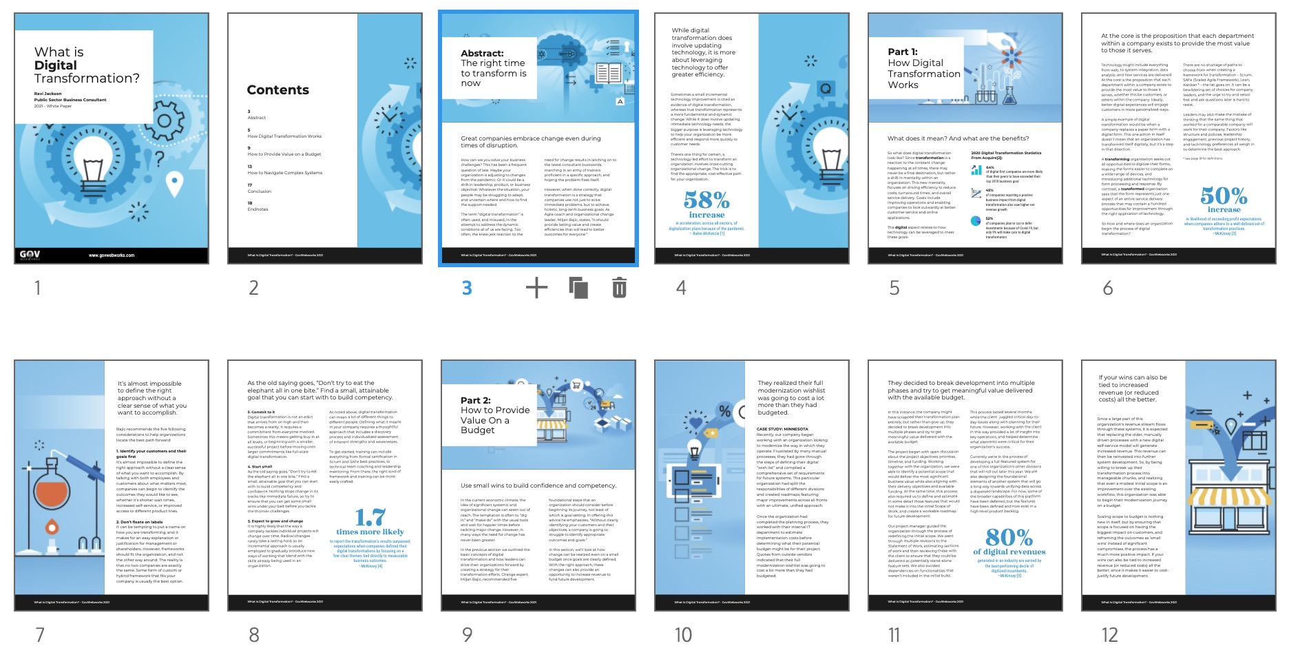What Is Digital Transformation? - White Paper